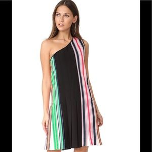 Diane von Furstenberg Preppy Ribbon Dress NWT 8
